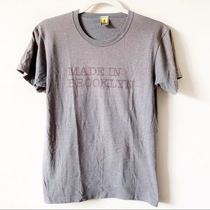 """Men's """"Made in Brooklyn"""" Tee Size L"""